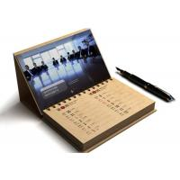Card Paper Promotional Calendar Printing , Desktop Calendar Printing OEM Available Manufactures
