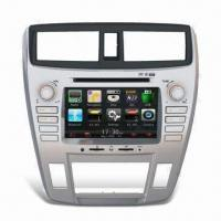 GPS Car Navigation System with In-dash DVD Player for Honda, Supports Bluetooth Function Manufactures