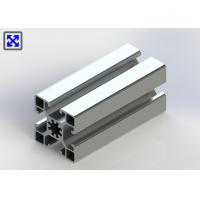 China 10.2mm Hole 45 * 45 Aluminum T Slot Table Plates 1.3mm Thickness Design on sale