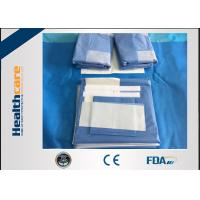 Buy cheap SMMS Disposable Surgical Pack Medical Angiography Pack With EO Gas Sterile from wholesalers