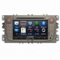 In-dash DVD Player for Ford, with Bluetooth/Navigation, Ideal for Apple's iPod/iPhone/iPad Manufactures