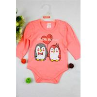 0 - 9M Super Soft Baby Clothes Multi Colors Elastic Rompers With Good Shape Manufactures