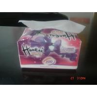 Eco Friendly 3 Ply Tissues , Plastics Bag Soft Pack Facial Tissue Paper Manufactures