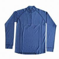 Polypropylene Top Thermal Underwear for Man, Merino Wool Outer, Super Moisture Wicking Function Manufactures