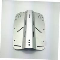 Stainless Steel And Aluminum Metal Stamping Parts Silver Diving Backplate Wings Manufactures