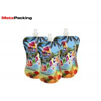China Baby Food Spout Pouch Drink Packaging Bottom Gusset Reusable Eco Friendly on sale