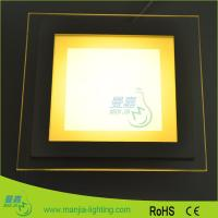 Buy cheap Neutral White 4000k Square 6w Flat Panel LED Lights 2500k - 9900k For Ceiling from wholesalers