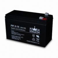 Solar Battery with 12V Voltage and 7.2Ah Nominal Capacity, Measures 151 x 65 x 93mm Manufactures