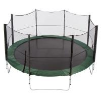 12ft commercial outdoor bungee jumping trampoline with Heavy-gauge steel framework Manufactures