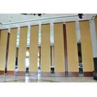 China Office Hanging Sliding Door  , Sliding Folding Doors , 85mm Melamine Partition Wall on sale