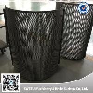 High Quality China Granulator Screens for Plastics Manufactures