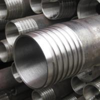 Wireline Rock Drilling Tools Drill Rod  / Casing Tube Carbon Steel Material Manufactures
