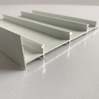 T5 6063 Anodized Powder Coated Aluminum Extrusions Manufactures