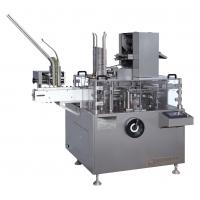 PLC Touch Screen Automatic Cartoning Machine Bottles Packing Equipment 1-4 Fold Manufactures