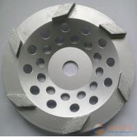 China 7-Inch Diamond Cup Grinding Wheel For Concrete , Granite / Diamond Angle Grinder Wheel on sale