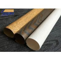 Environmental PVC Furniture Film Wood Grain For Wall Panel / Boards Manufactures