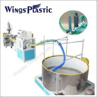 PVC Suction Hose Extrusion Line / Plastic spiral Winding Reinforced Hose Making Machine Manufactures