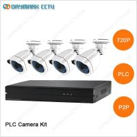 New tech network 4CH 720P Plug and Play PLC Security Camera System Manufactures