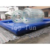 Cheap Transparent Inflatable Water Roller For sea / lake / swimming pools for sale
