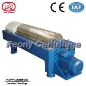Continuous Scroll Centrifuge Decanter Centrifuge Manure Sludge