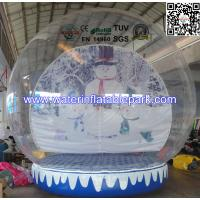 Advertising Inflatable Igloo Tent  Snow Globe Showing SGS / EN14960 Manufactures