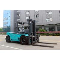 Battery Operated Electric Forklift Truck , Industrial 12 Ton / 10 Ton Electric Forklift Manufactures