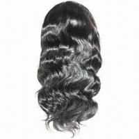 Curly Synthetic Hair Wig, Made of High-quality and -temperature Fiber Manufactures