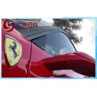 China Red Gloss Vinyl Wrap Automotive Flexible And Stretchable Vinyl on sale