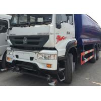 High Pressure Water Tank Truck With Pneumatic Control / Manual Control System Manufactures