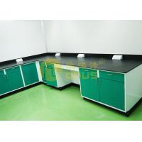 Resist strong alkalies laboratory work benches for pharmaceutical company Manufactures