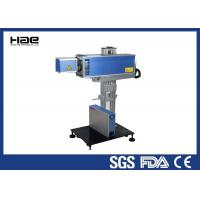10W 30W CO2 laser marking machine engrave textile fabric leather marking Manufactures