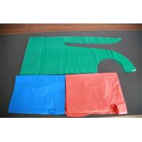 Polythene Disposable Medical Aprons , Throw Away Aprons For Hygiene Nursing Manufactures