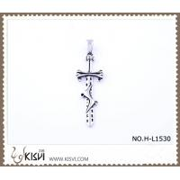 Hot sell 316 Stainless Steel Cross & Sword  Pendant H-L1530 Manufactures