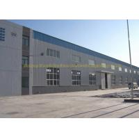 Fire Proof Quick Build Prefabricated Steel Structure Warehouse Moisture Proof Manufactures