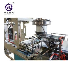 Fully automatic zip lock bag making machine , three side sealing bag making machine Manufactures