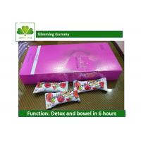 Quality Healthiest Weight Loss Protein Bars Slimming Gummy For Detox / Cleanse Colon wholesale