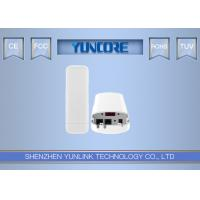 ABS Material 5.8 GHz Outdoor CPE Device Wireless Bridge 802.11AC One Key Connection Manufactures