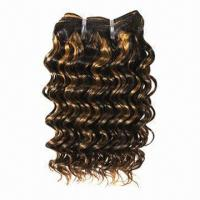 Fashionable Human Hair Weaves in Stock, Different Colors and Styles are Available Manufactures