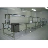 ESD Anti Static Clean Room Equipment Two Layer Stainless Steel Work Bench Table Manufactures