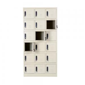 Customized KD Multi Door Shoes 900mm Metal Locker Sideboard Manufactures