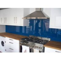 Colorful Painted DIY Painted Glass Backsplash For Bathroom Walls Manufactures