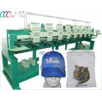 High Speed Clothes Tee Shirt Computerized Embroidery Machine 8 Heads 9 Needles Manufactures