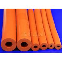 100% Silica Gel Hollow Flexible Foam Tubing Uniform Density Strict Testing Manufactures