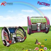 Amusement electric Happy car for 2 players with sensor and music both kids and adult Manufactures
