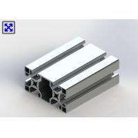 European Standard Anodized T Slot Aluminum Extrusion 40 * 80 For Industrial Manufactures