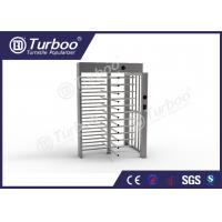 Full Height Gate , Turnstile Security Products 30 Persons / Min Transit Speed Manufactures