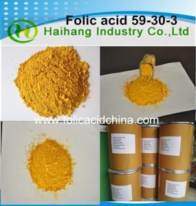 Folic acid food grade use for food Nutritional Supplement Manufactures