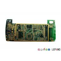 Halogen Free 6 Layer High Speed PCB , Industrial Circuit Board ENIG Surface Treatment Manufactures