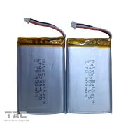 Lithium Polymer Battery Pack   LP403759 3.7v 900mah for Table PC Manufactures