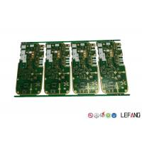 4 Layers High Frequency PCB Board ENIG Surface Communication Device Application Manufactures